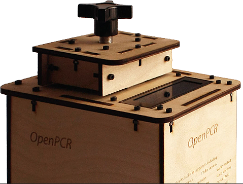 Open PCR Machine is a biohacking example