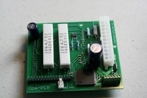 The OpenPCR PCB