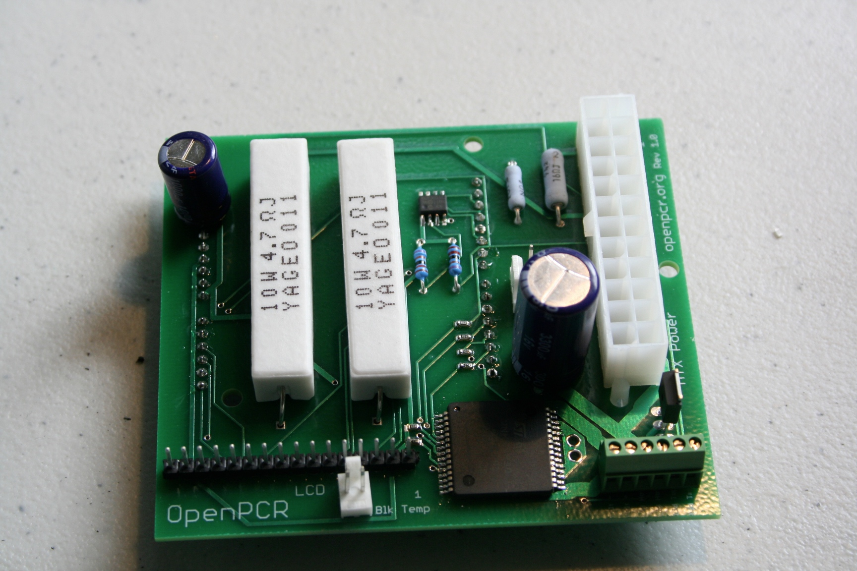 Openpcr Boards Assembled Open Source Hackable Personal Circuit Board Pcb Machine Assembly The