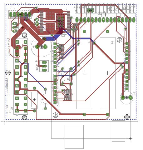 OpenPCR PCB